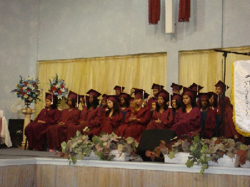 Roatan Graduation Ceremony